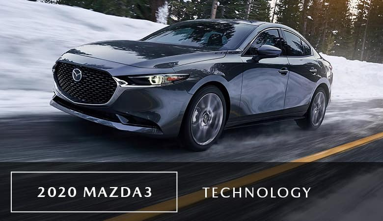 2020 Mazda3 Sedan Technology - Bert Ogden Mazda Mission - Mission, TX