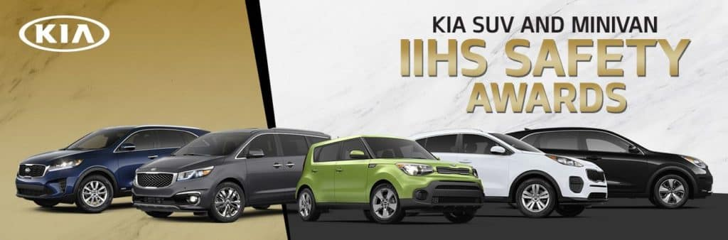 Kia SUV and Minivan IIHS Safety Awards - Bert Ogden Mission Kia - Mission, TX