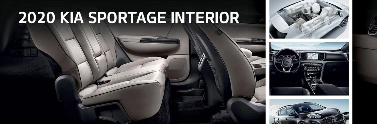 2020 Kia Sportage Interior | Bert Ogden Mission Kia | Mission, TX