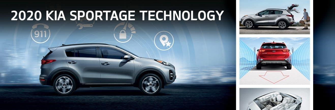 2020 Kia Sportage Technology | Bert Ogden Mission Kia | Mission, TX