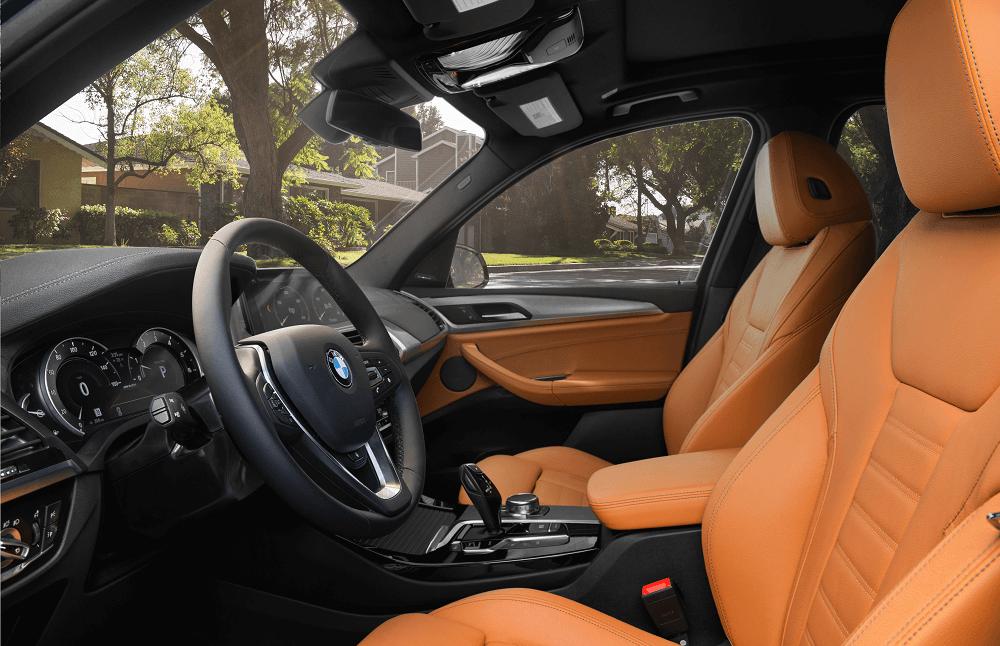 BMW X3 Front Seats