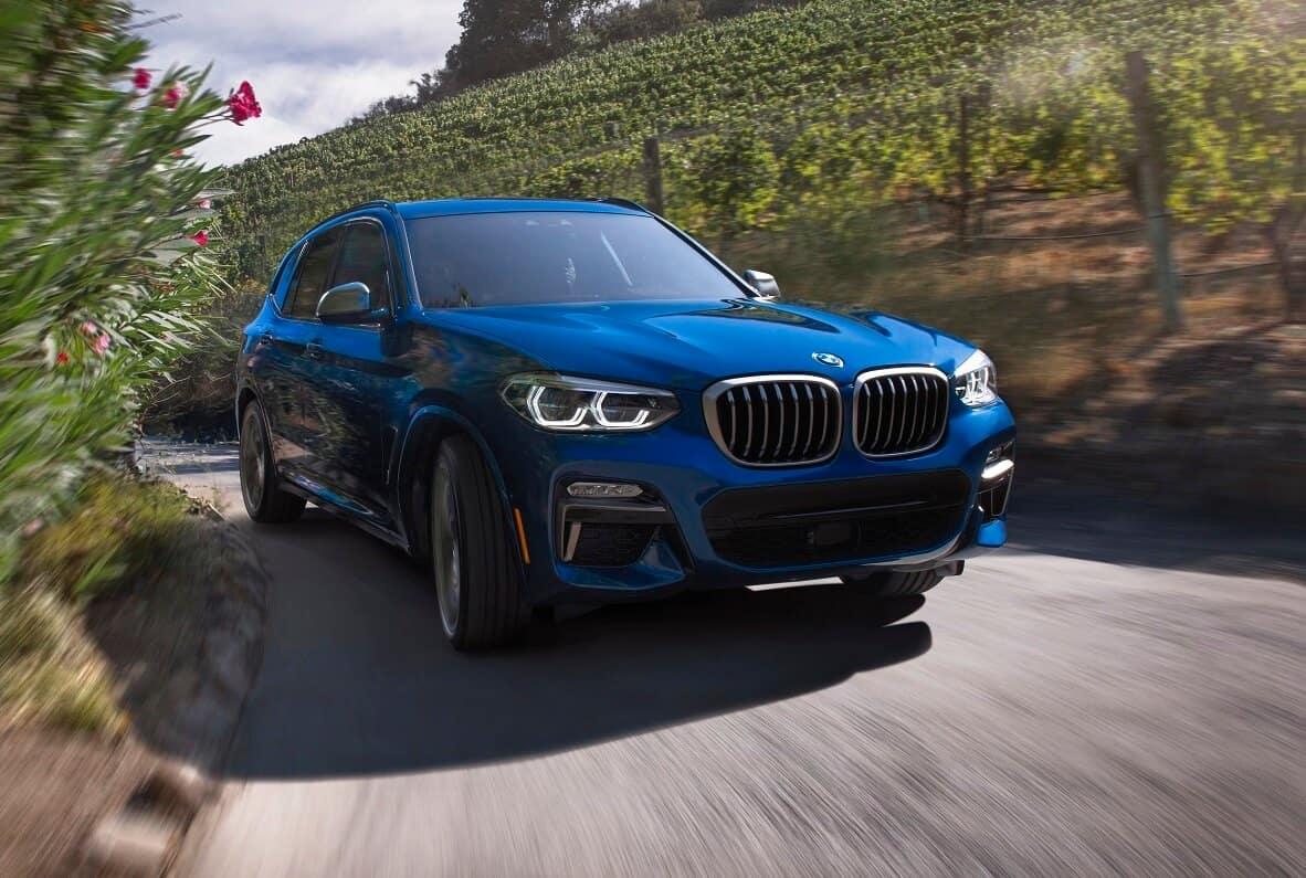 BMW X3 on Road