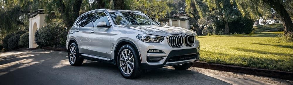 BMW X3 Parked