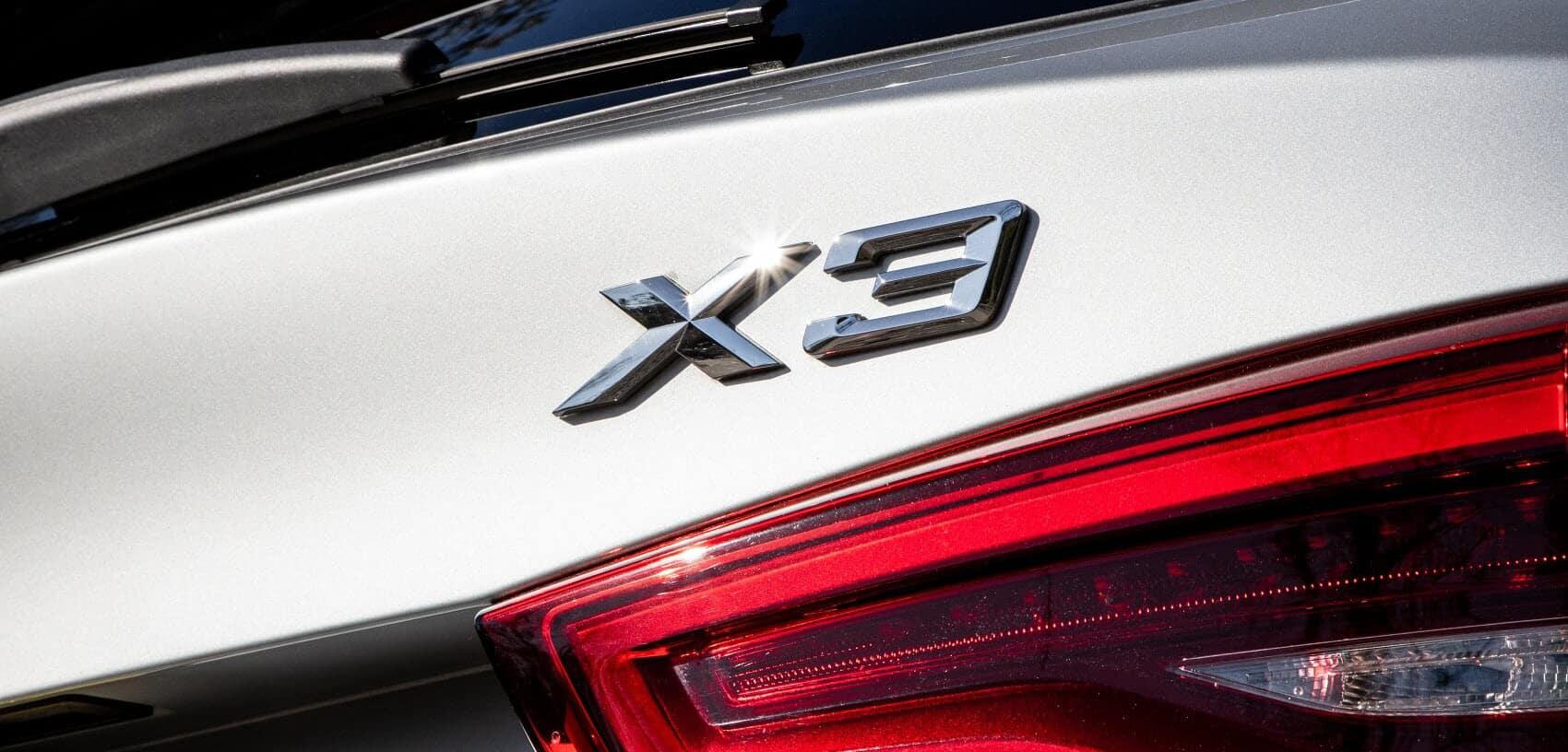 BMW X3 Emblem