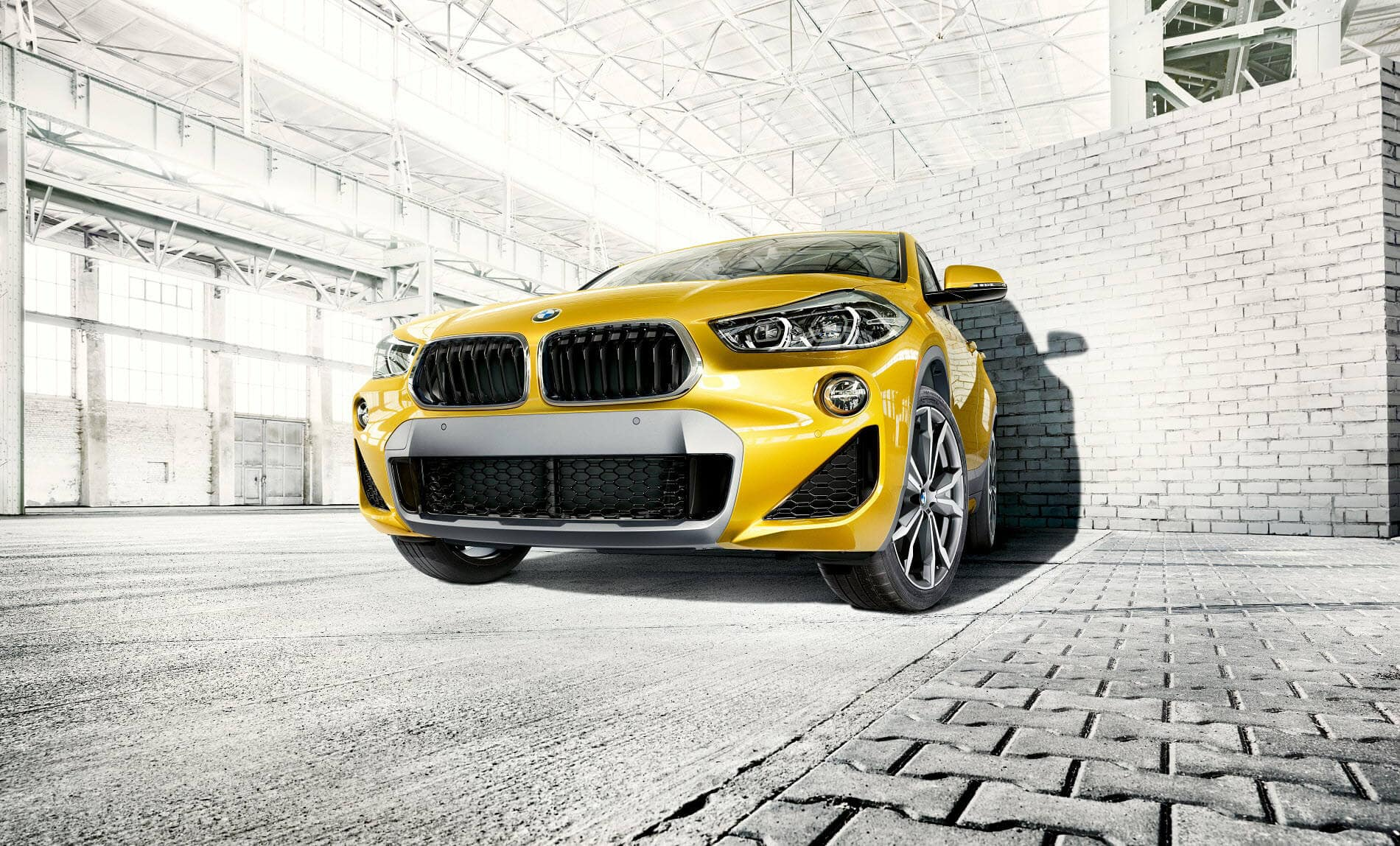BMW X2 Galvanic Gold Metallic
