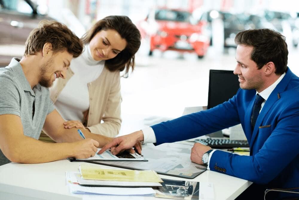 Leasing at Dealership