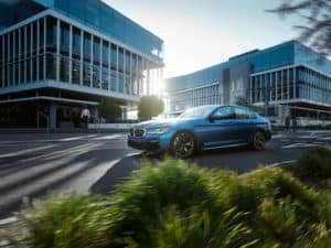 BMW 5 Series Safety Features