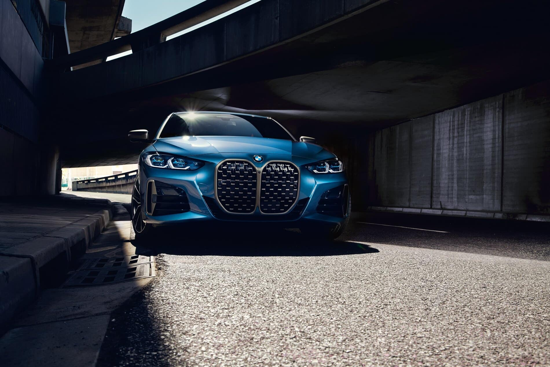 Blue 2021 BMW 4 Series