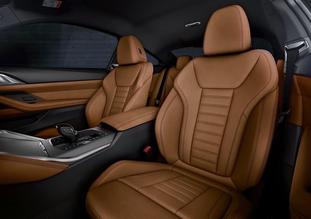 2021 BMW 4 Series Interior Seating
