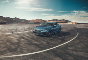 BMW 4 Series Blue Performance