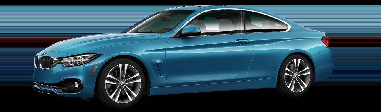 BMW 4 Series Blue Sedan