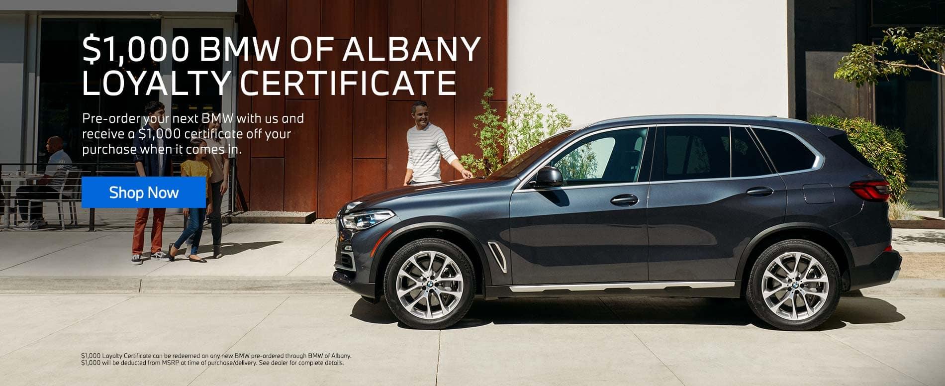 Loyalty Certificate