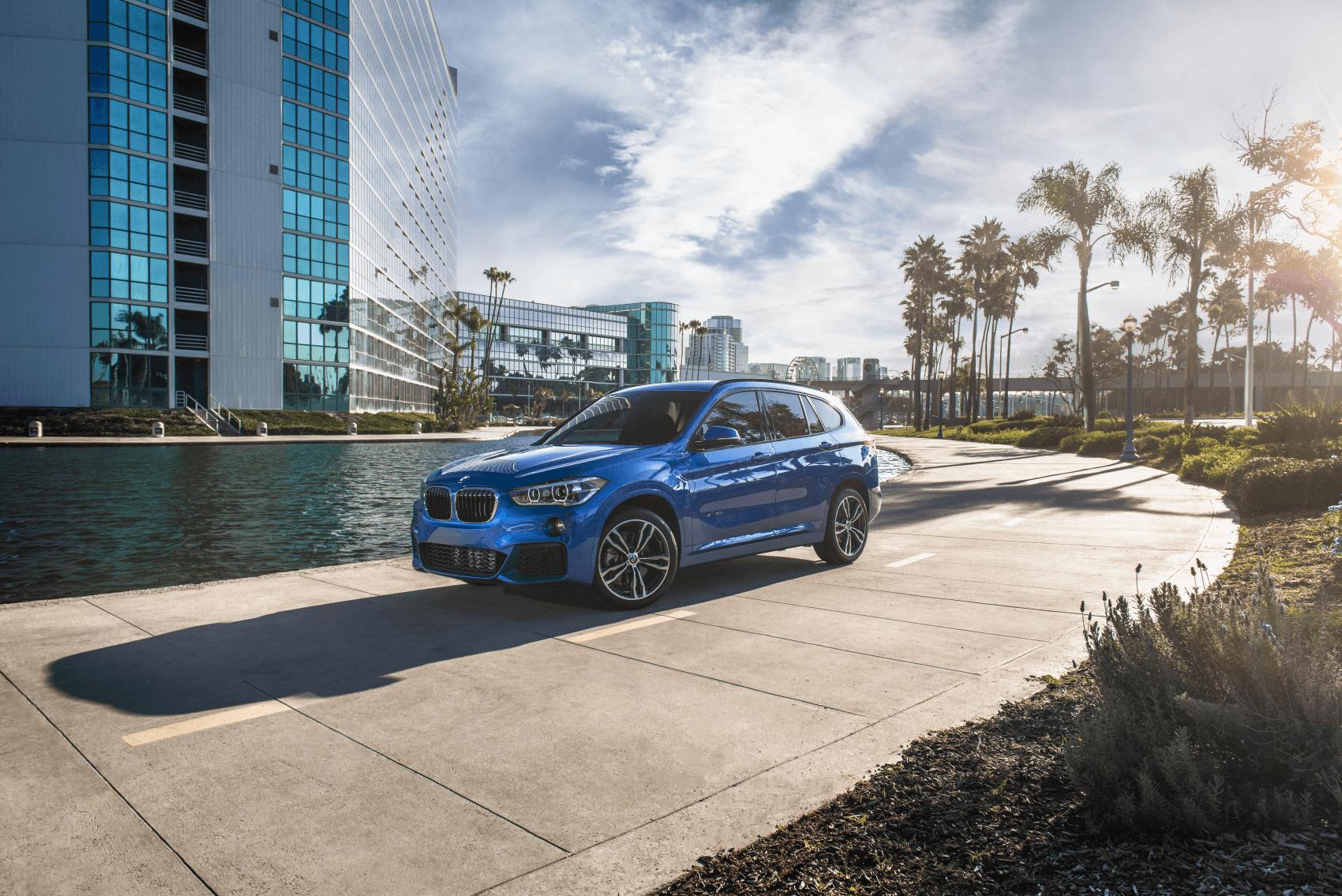 BMW X1 Blue Corner