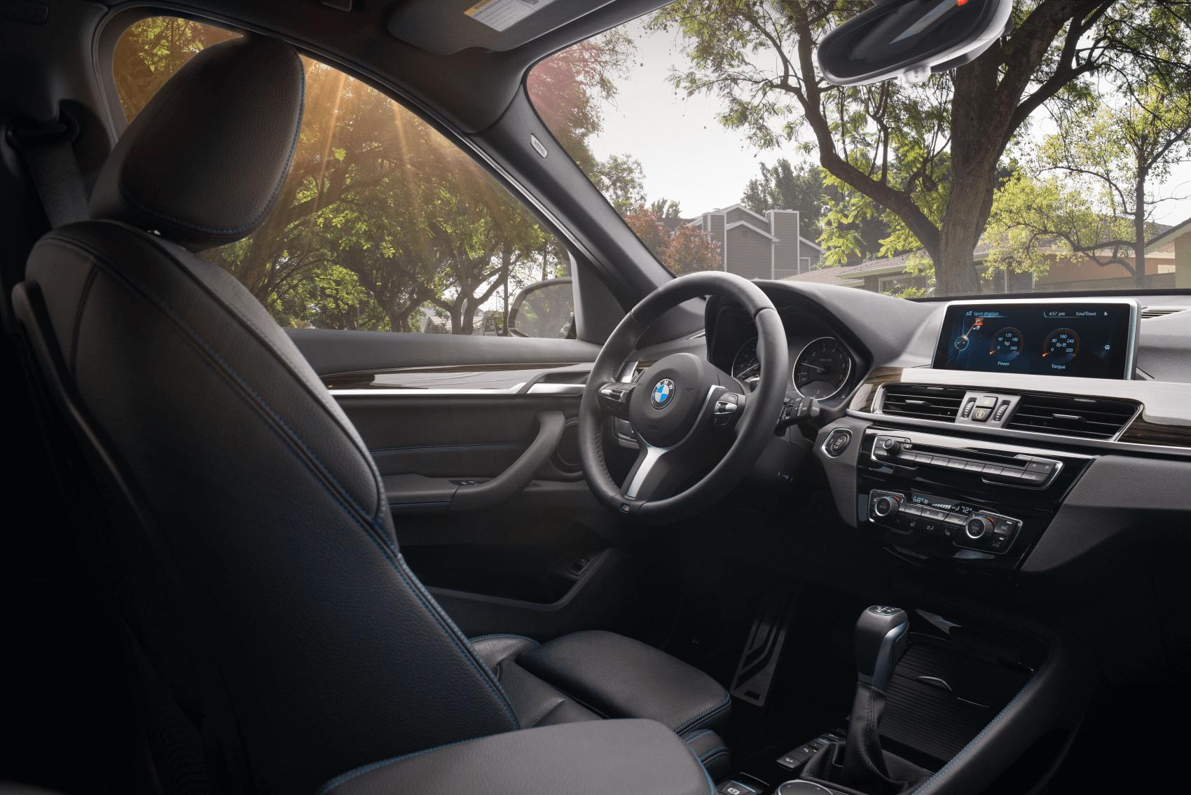 BMW X1 Interior Tech