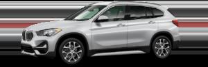 BMW X1 Silver Side View
