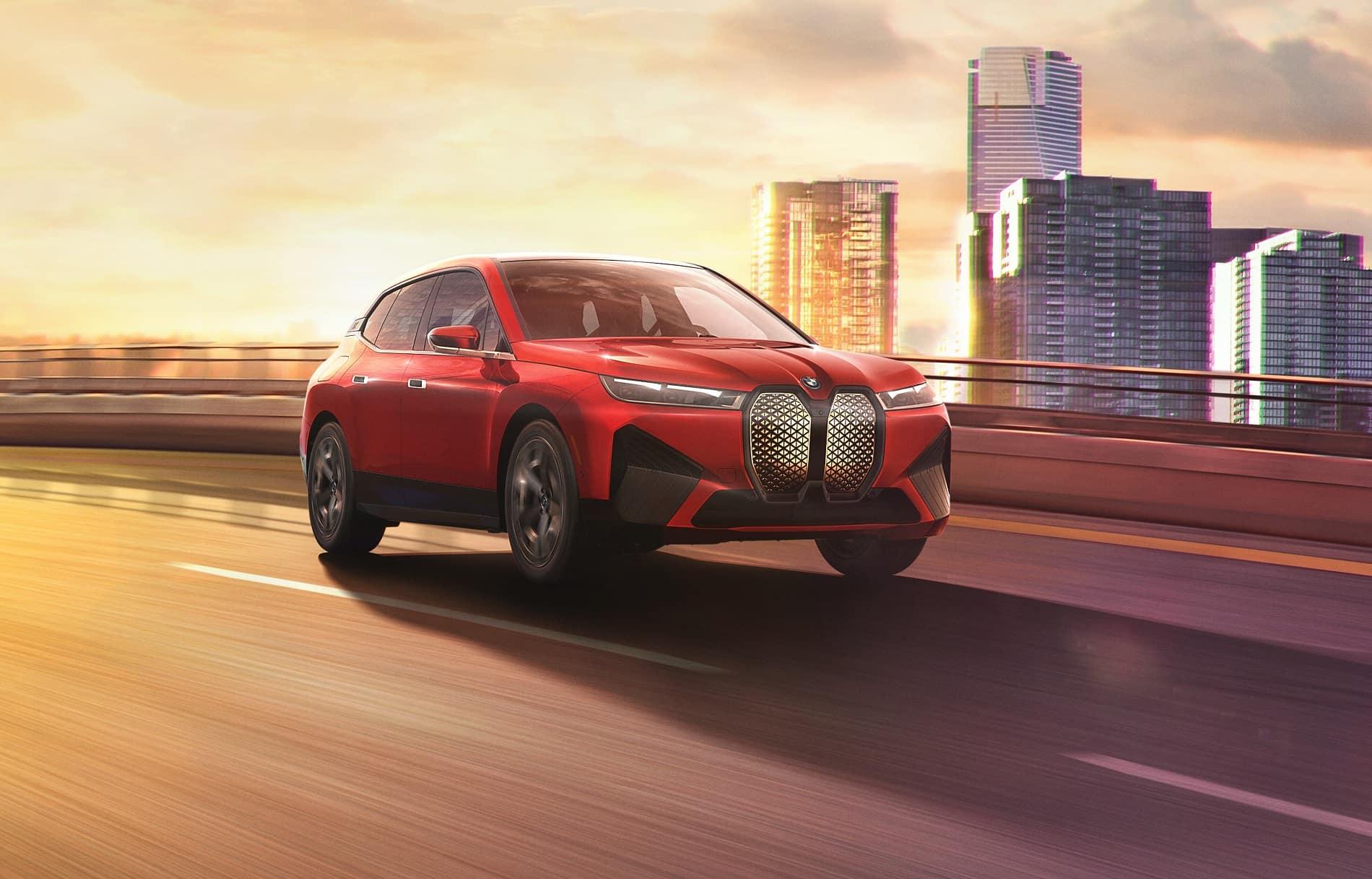BMW iX Electric Specs