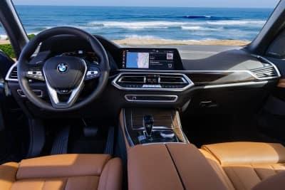 BMW X5 interior design