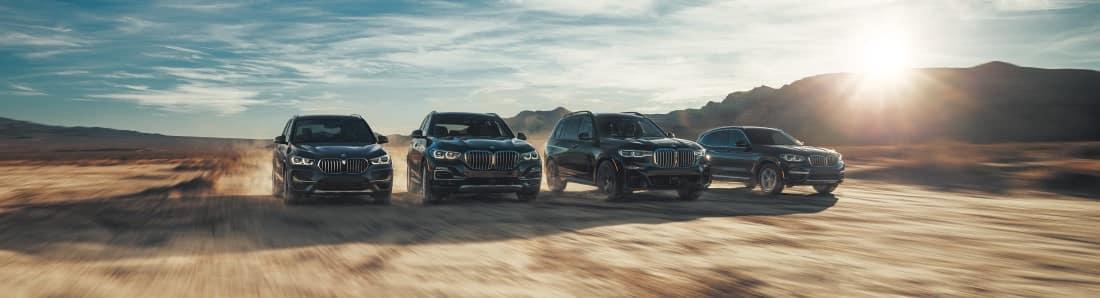 BMW X model lineup