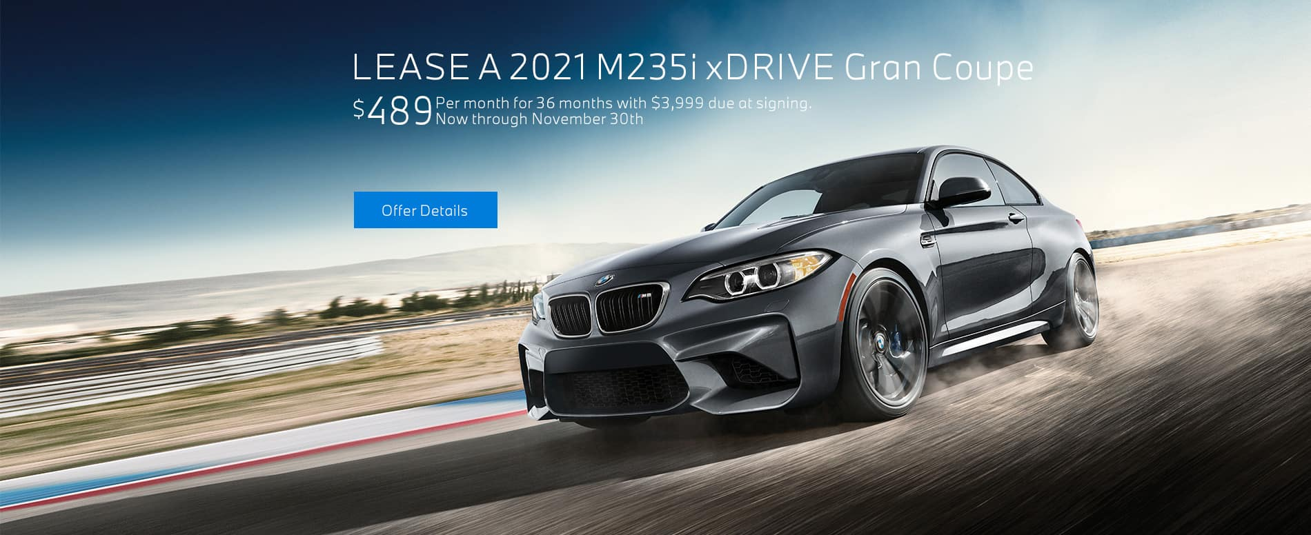 LEASE A 2021 M235i xDRIVE GRAN COUPE