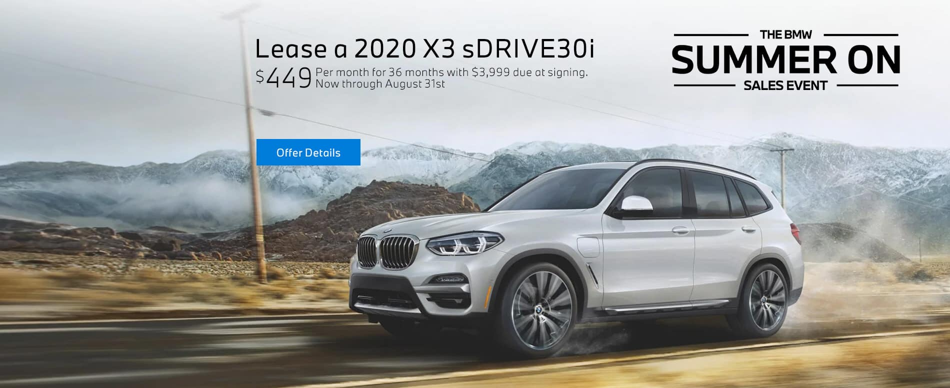 2020 BMW X3 sDrive30i at BMW of Fort Walton Beach