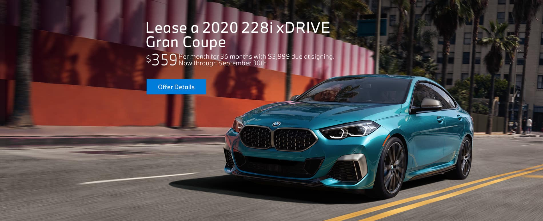 Lease a 2020 228i xDrive Gran Coupe at BMW of Fort Walton Beach!