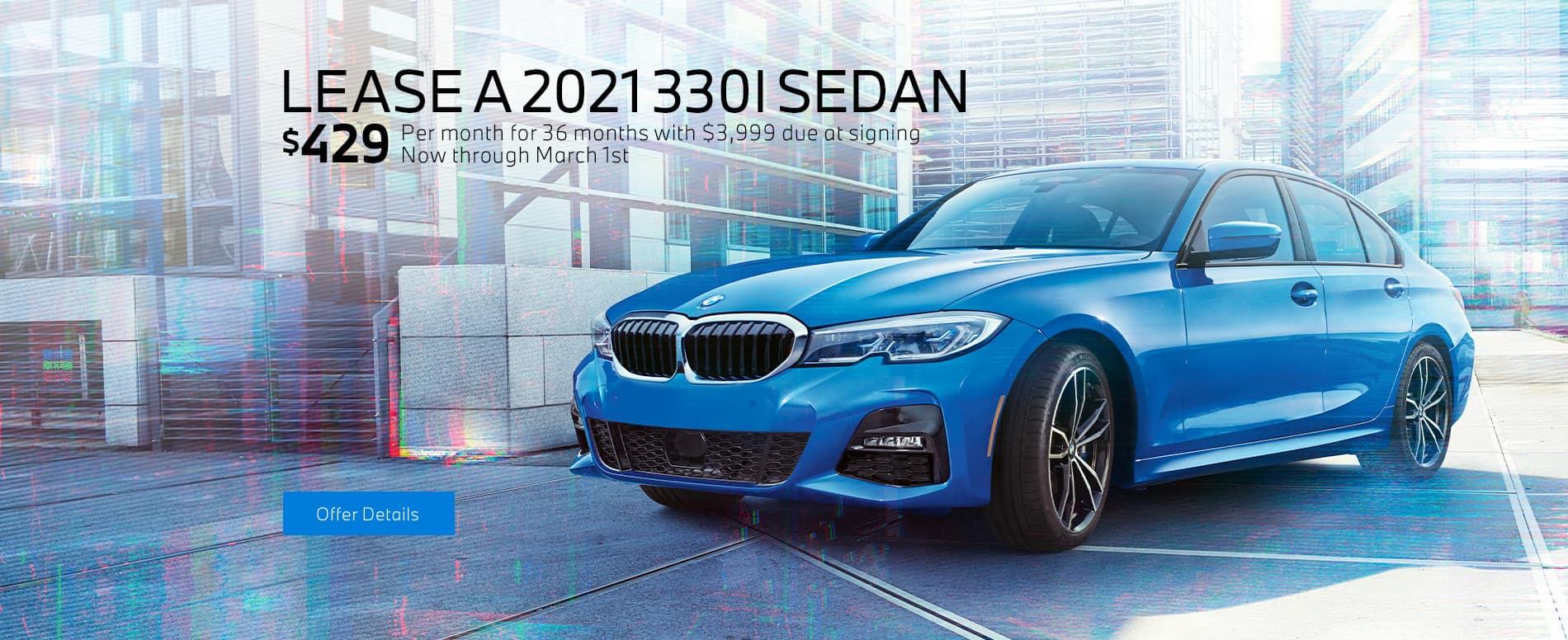 LEASE A 2021 330I SEDAN
