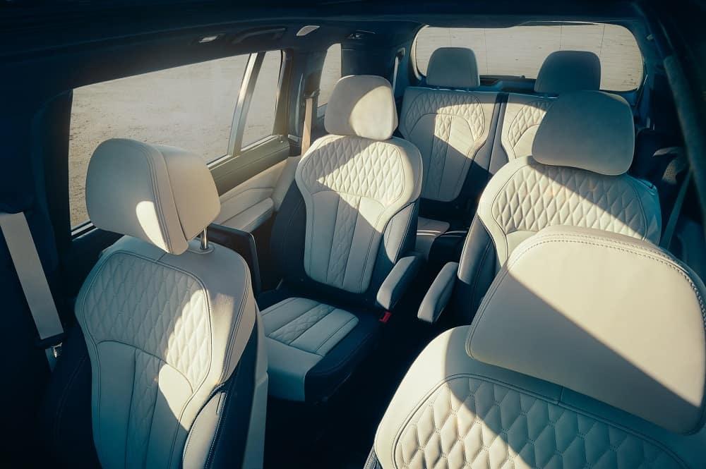 BMW X7 Interior Seats