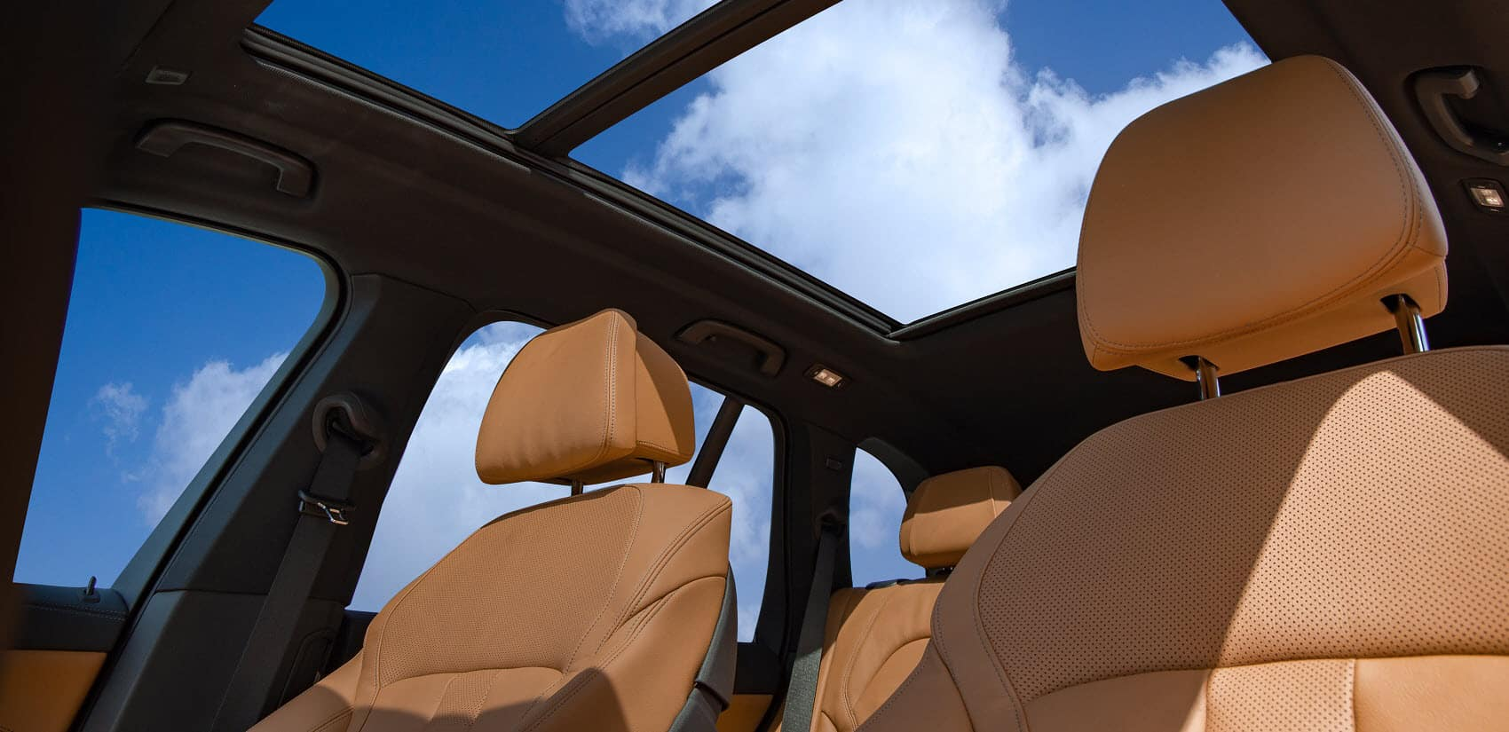 BMW X5 Interior Headroom