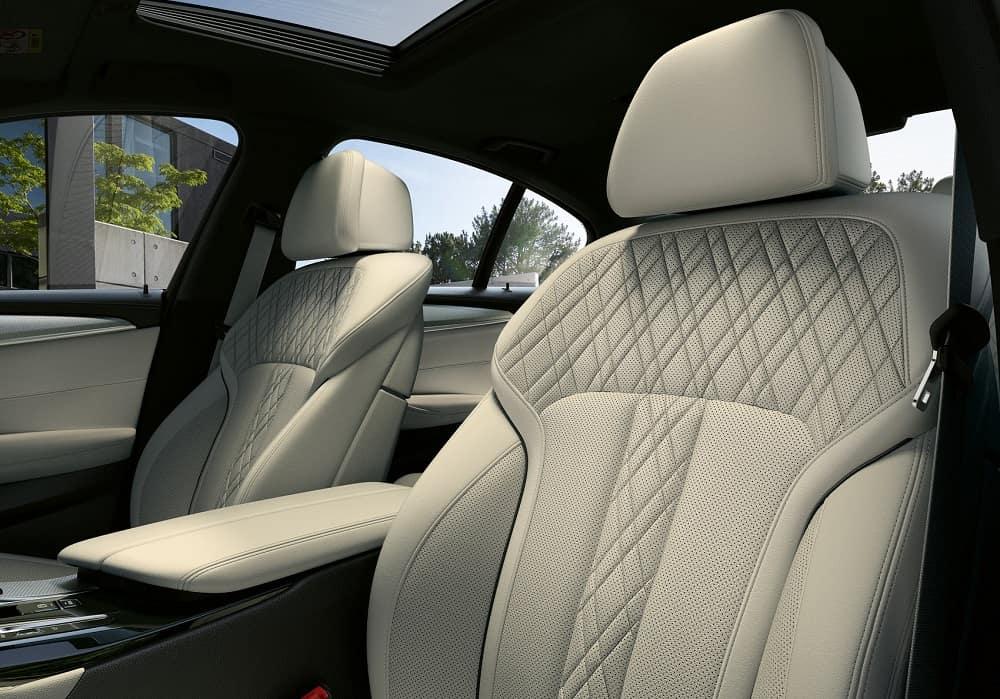 2021 BMW 5 Series Interior Space