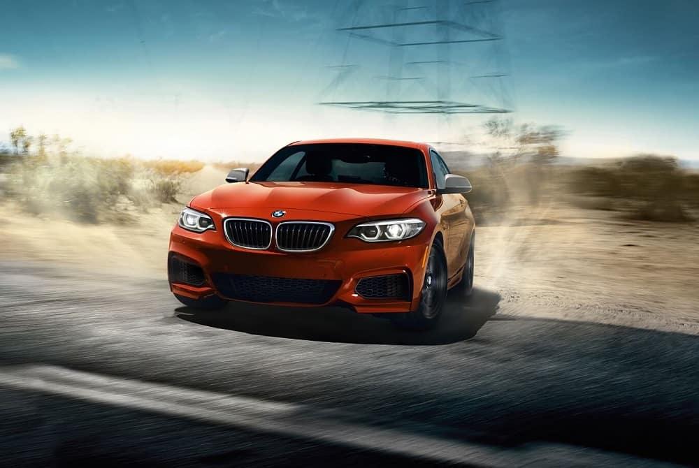 BMW 2 Series Driving