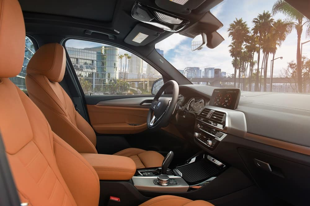 BMW X3 Interior Front Seats