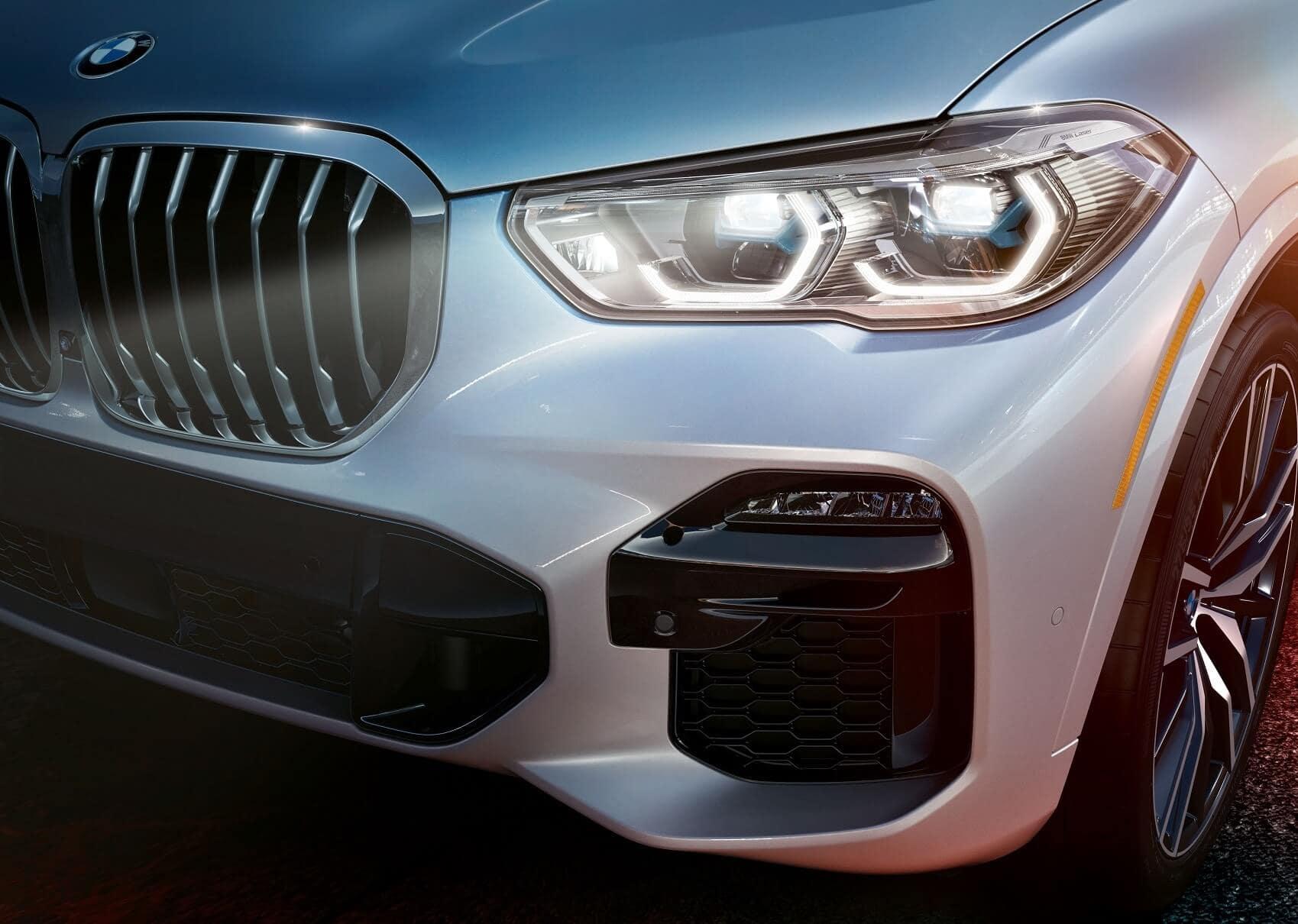 BMW X5 LED headlights