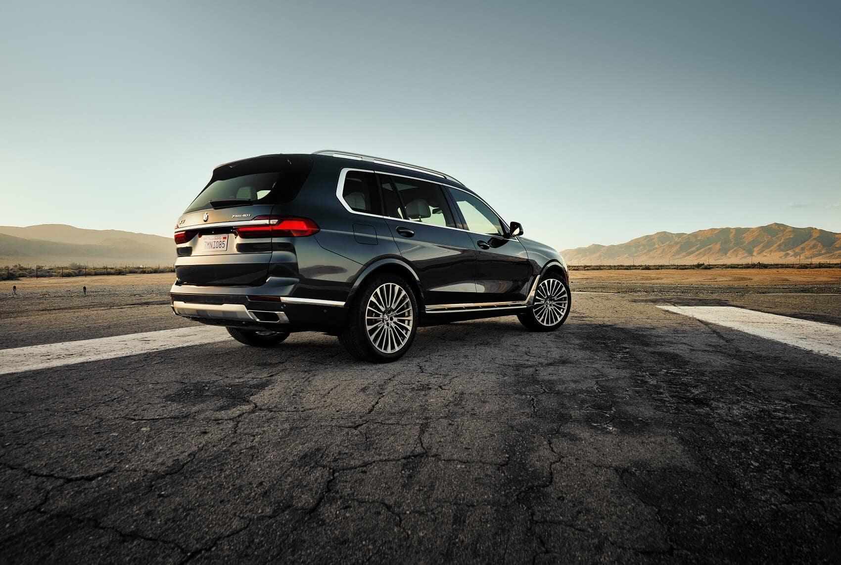 Black BMW X7 Exterior