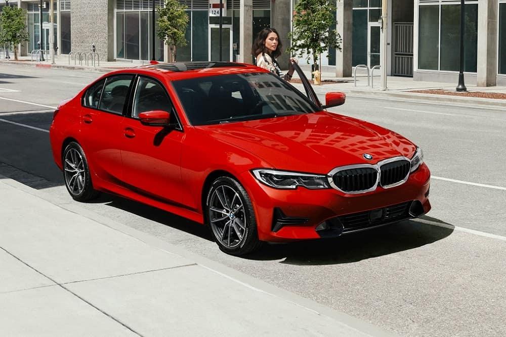 BMW 3 Series Melbourne Red Metallic