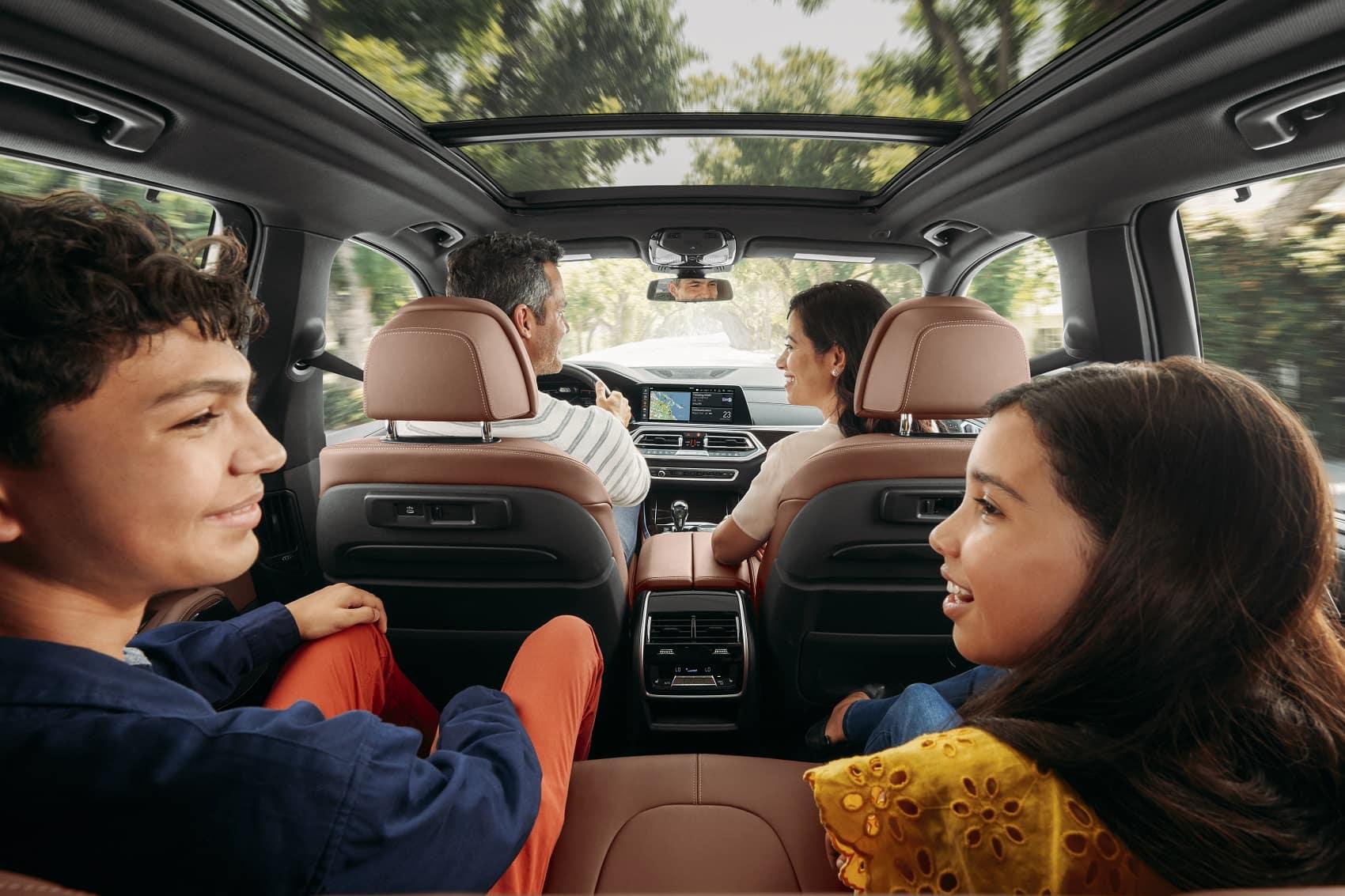 BMW X5 Interior Space