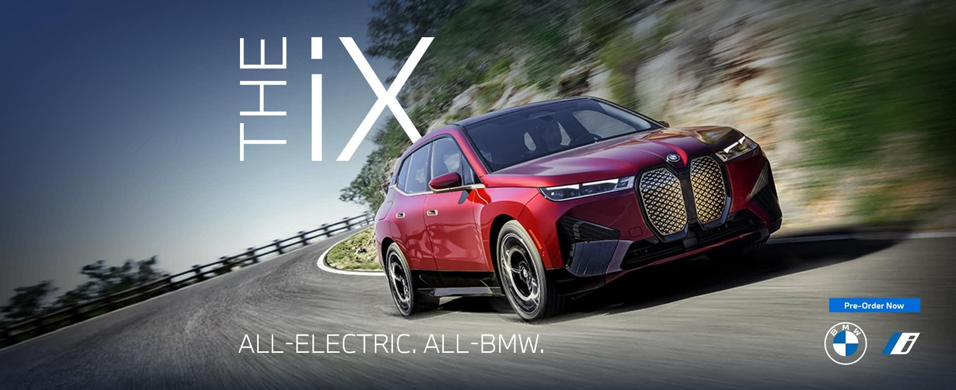 Pre-Order The BMW iX