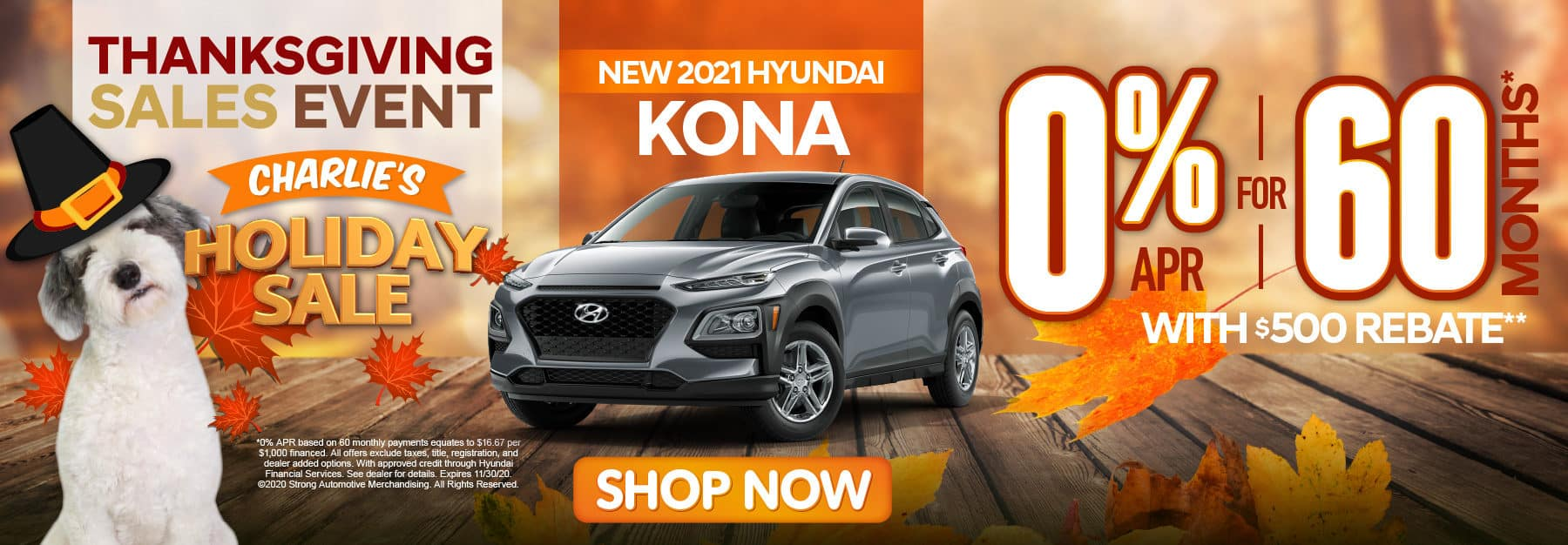 2021 Hyundai Kona 0% APR for 60 months - click here to view inventory
