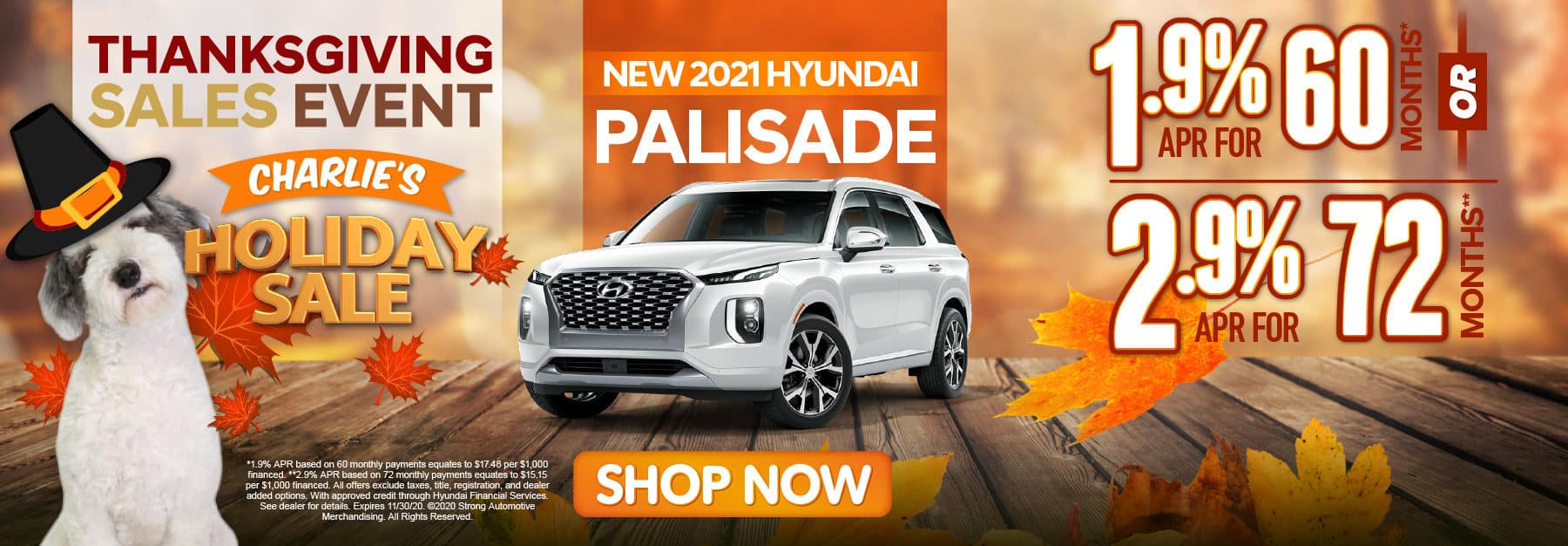 NEW 201 HYUNDAI PALISADE 1.9% APR for 60 months - click here to more information