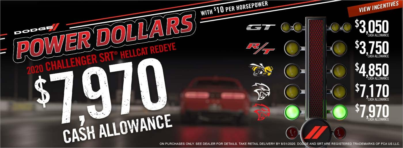 Dodge Power Dollars Sale