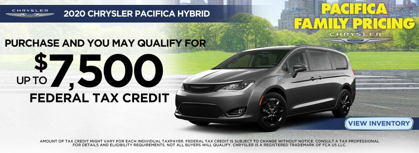 Pacifica Hybrid Tax Credit