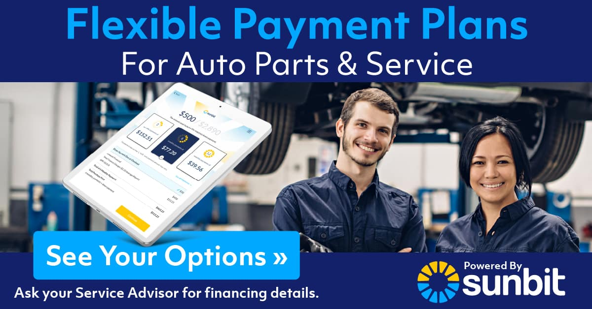 Payment Options for Service Auto Repairs