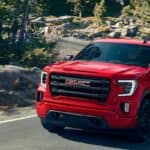 2020 GMC Sierra 1500 red