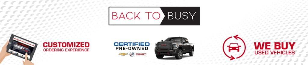 Back To Busy at Capital GMC