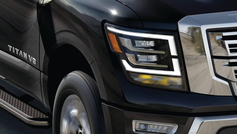 2020 Nissan Titan Headlight