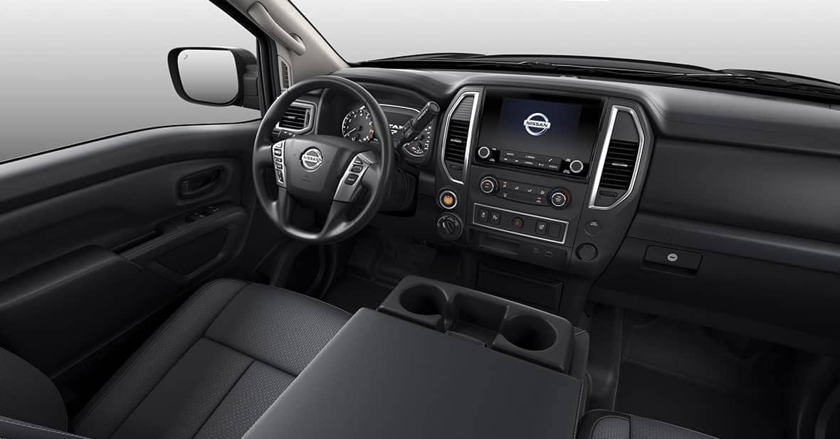 2020 Nissan Titan Dash