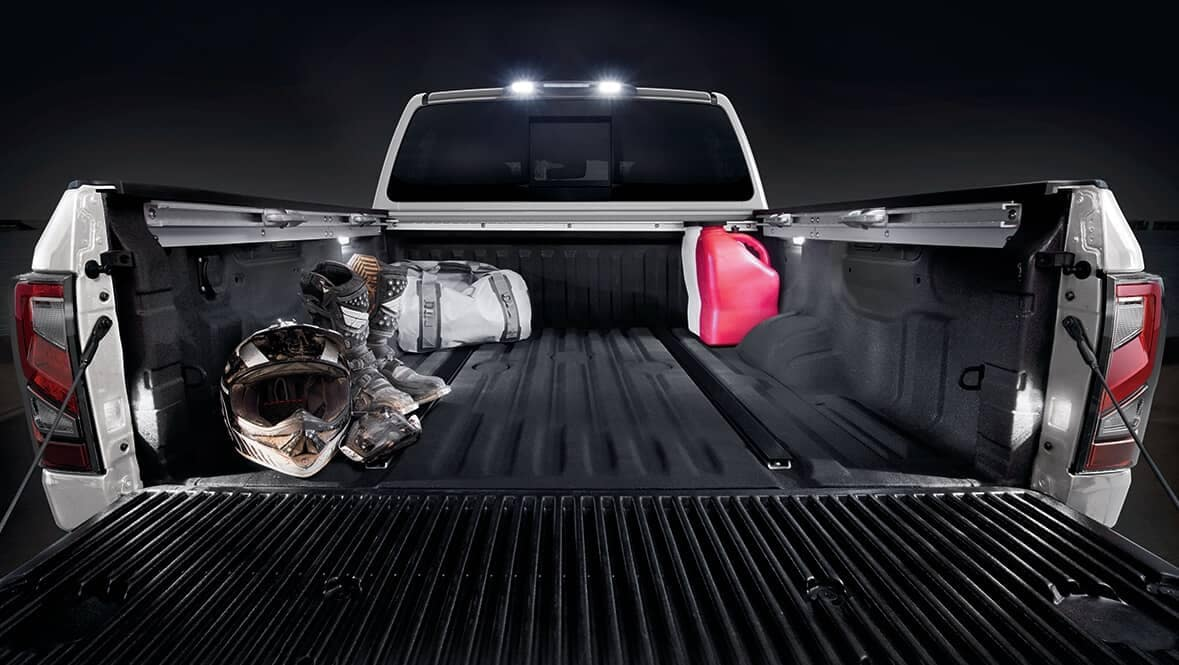2020 Nissan Titan Bed space