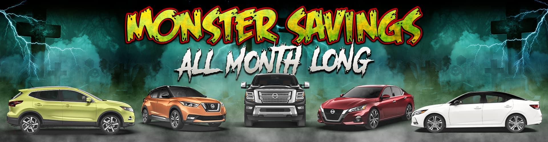 Monster-Savings Homepage Banner