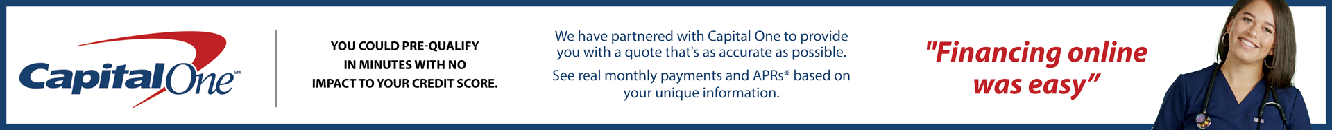 Capital One Banner