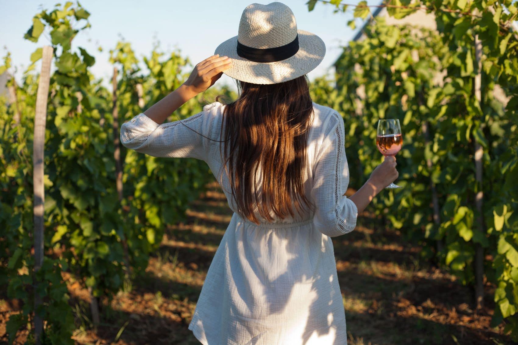 Girl at Winery