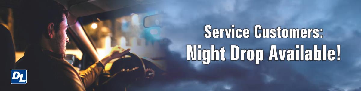 Service Night Drop Off
